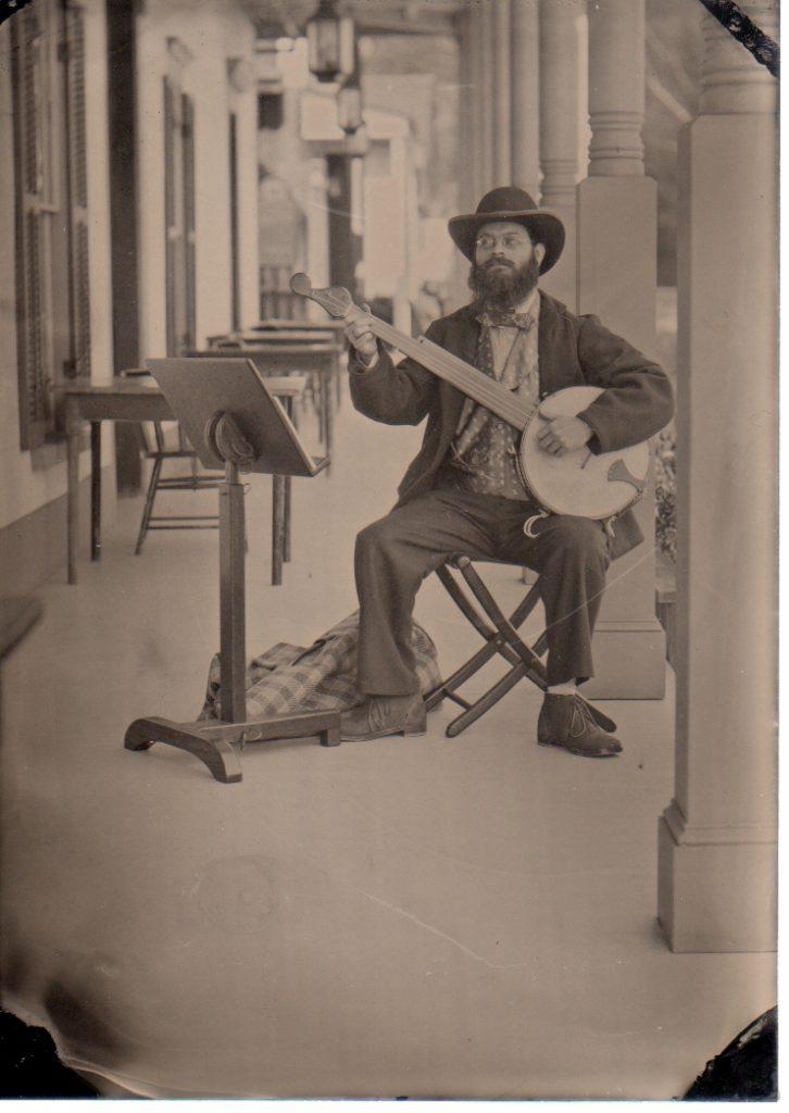 C.A. Prieto Minstrel Banjo Player