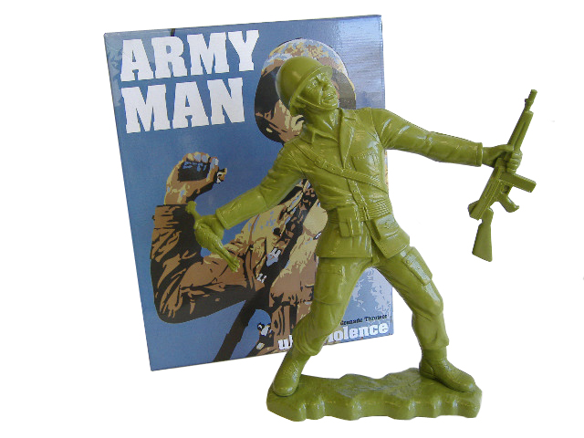 Kozik Big Army Man - Green Colorway